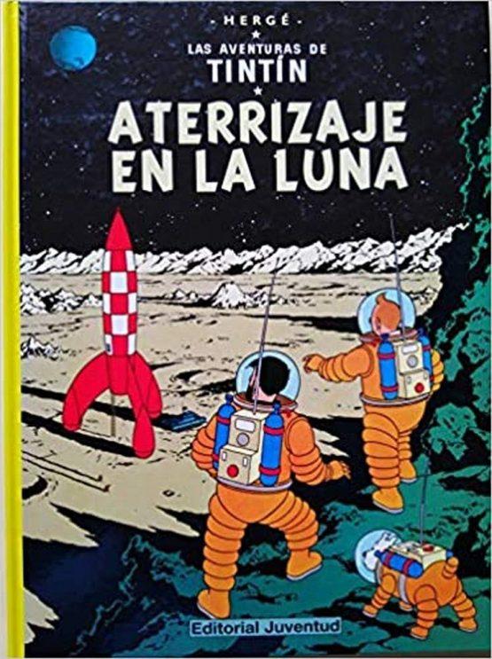 Comic Tintin Luna