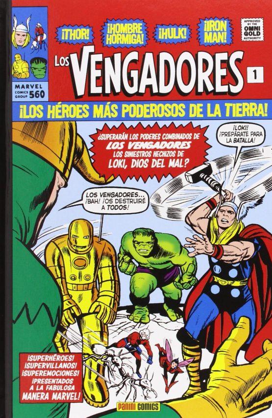 Comic clasico Los Vengadores 1