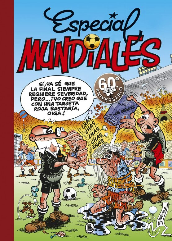 Mortadelo y Filemon Mundiales Futbol