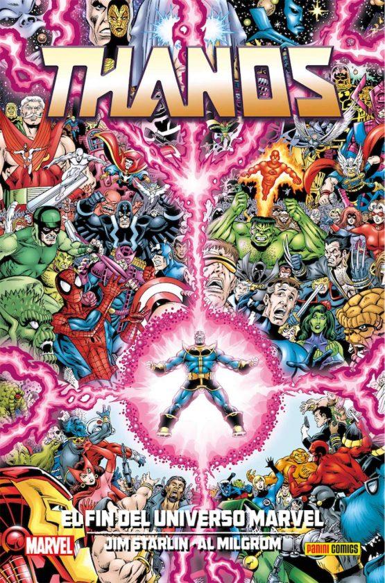 Thanos Fin del Universo Marvel
