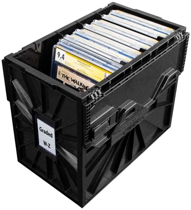 caja para proteger y almacenar cómics graduados