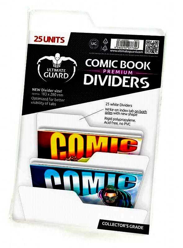 Separadores almacenamiento de cómics para proteger y almacenar cómics