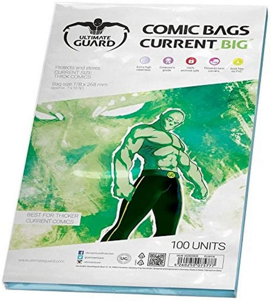 Funda Comics current big para proteger y almacenar cómics