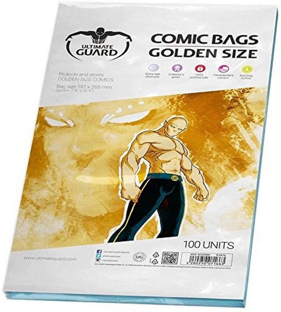 Funda comics ultimate guard golden size para proteger y almacenar cómics