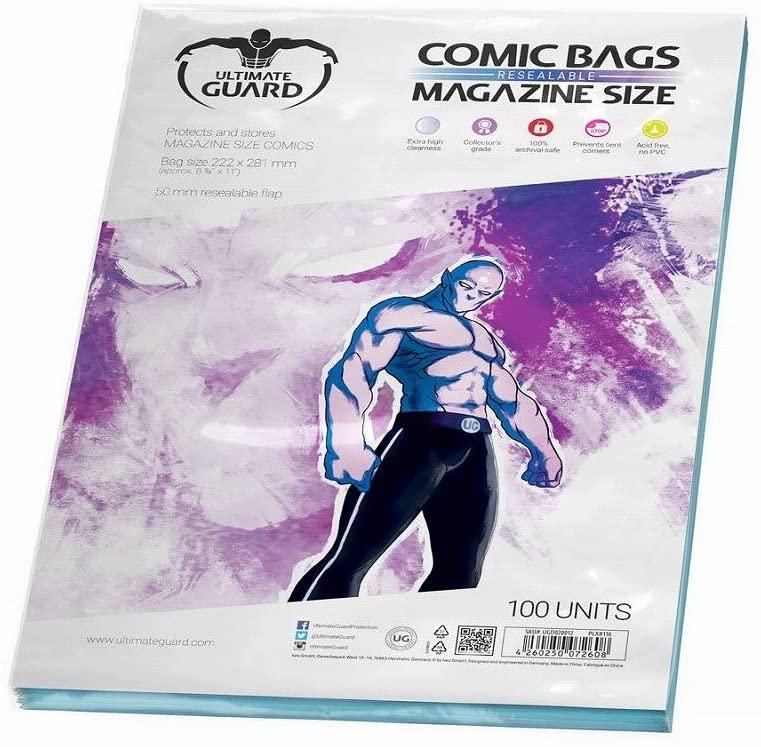 Funda comics magazine ultimate guard para proteger y almacenar cómics