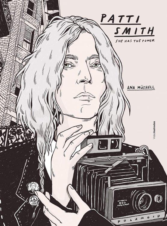 Patty Smith Ana mushell comic