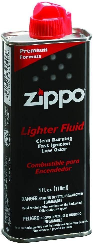 Combustible Zippo