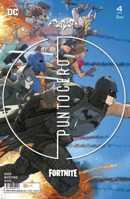 Comic Fortnite Batman